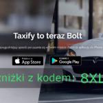Bolt - kod promocyjny -10zł na przejazdy